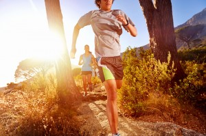 Runners on Trail
